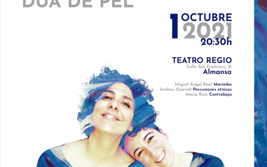ALMANSA: 'Madera de pájaro' en el Teatro Regio